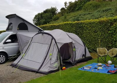 Camping on Anglesey