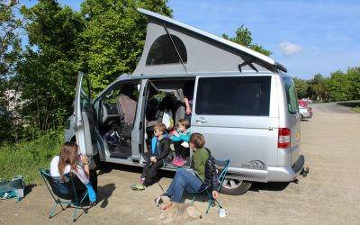 Camping with kids – time to unplug from their screens!