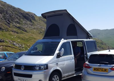 Great support vehicle for climbing Snowdon