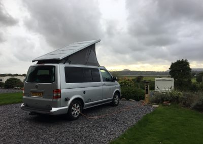 Campervan on hook up