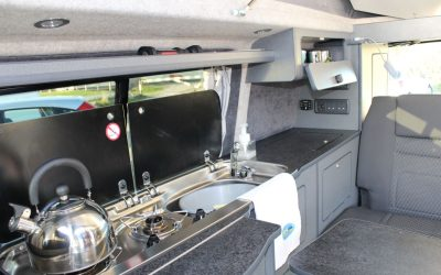 Campervan Cooking – Four wheels and two rings