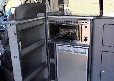 Wirral Campervan Hire - 55L fridge