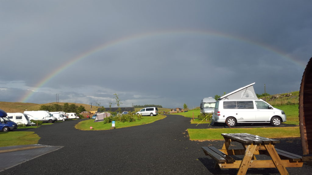 Photo of van in Northumberland